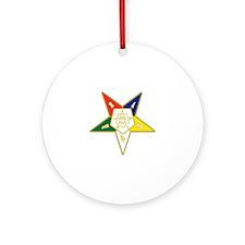 Eastern Star Ornament (Round)