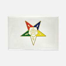 Eastern Star Rectangle Magnet (100 pack)