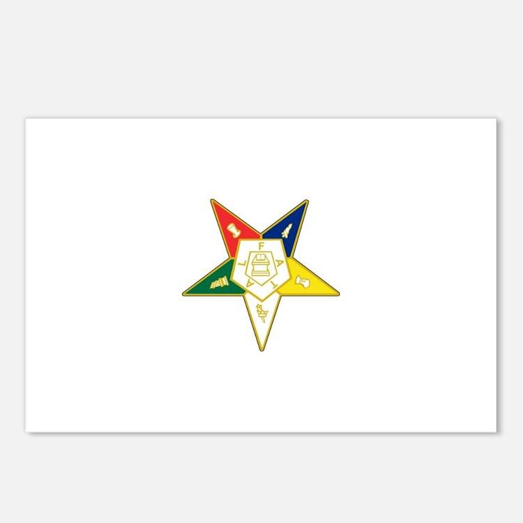 Eastern Star Postcards (Package of 8)