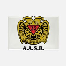 32nd Degree A.a.s.r. Rectangle Magnet Magnets