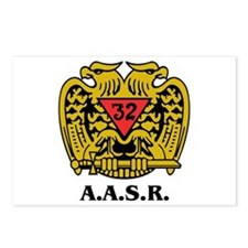 32nd Degree A.a.s.r. Postcards (package Of 8)