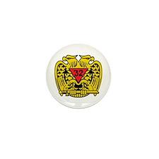 Scottish Rite Eagle Mini Button