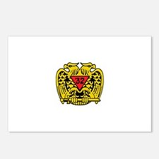 Scottish Rite Eagle Postcards (Package of 8)