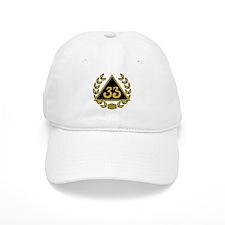 33rd Degree Wreath Baseball Cap