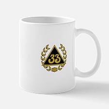 33rd Degree Wreath Mug