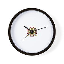 33rd Degree Jewel Wall Clock