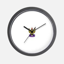 33rd Degree Wings Up Wall Clock
