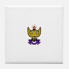 33rd Degree Wings Up Tile Coaster