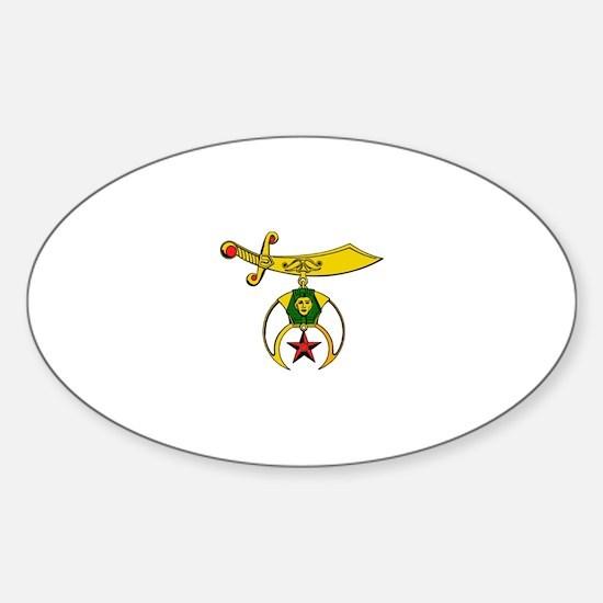 Shriner Sticker (Oval)