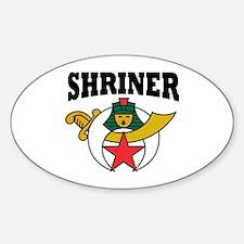 Shriner Decal