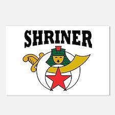 Shriner Postcards (Package of 8)