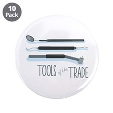 """Tools of the Trade 3.5"""" Button (10 pack)"""