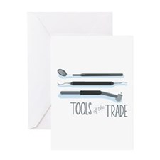 Tools of the Trade Greeting Cards