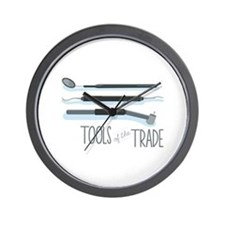 Tools of the Trade Wall Clock