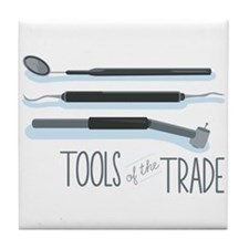 Tools of the Trade Tile Coaster