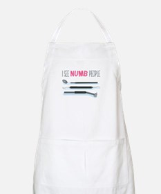 I See Numb People Apron