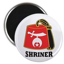 Shriner Fez Magnet