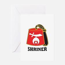 Shriner Fez Greeting Card