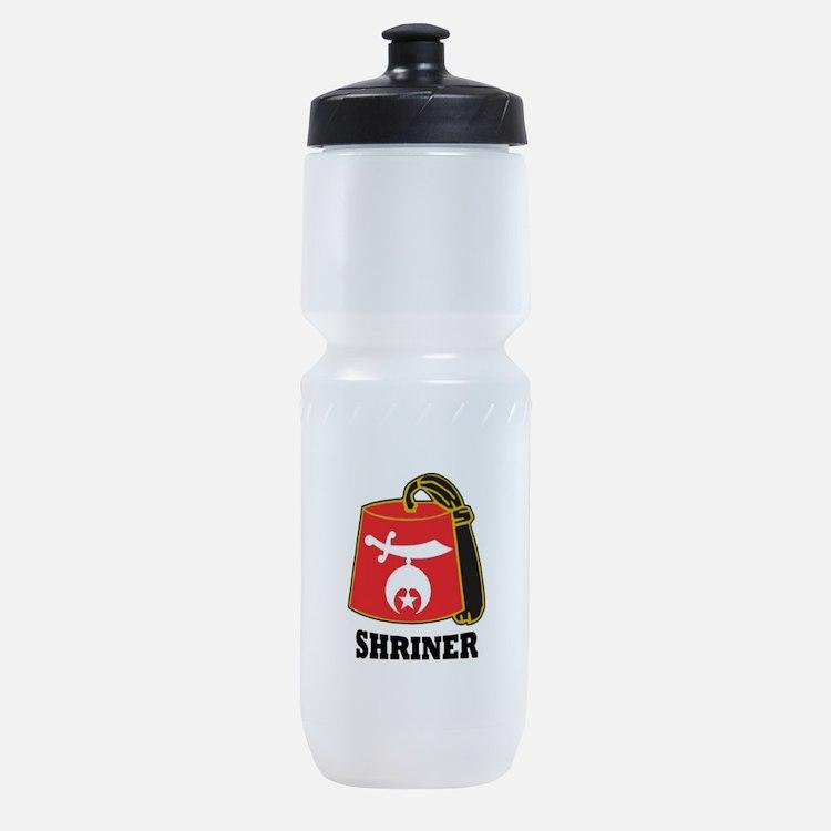 Shriner Fez Sports Bottle