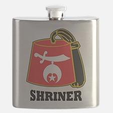 Shriner Fez Flask