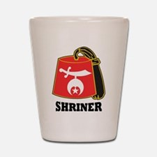 Shriner Fez Shot Glass