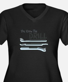 You Know the Drill Plus Size T-Shirt