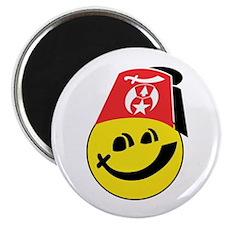 Smiling Shriner Magnet