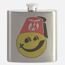 Smiling Shriner Flask