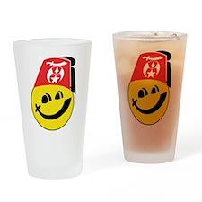 Smiling Shriner Drinking Glass