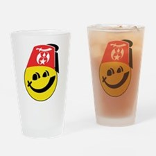 Smiling Shriner Drinking Glass