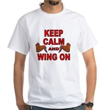 Keep Calm Double Wing Shirt