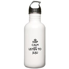 Funny Music genres Water Bottle