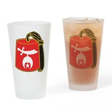 Funny Shriners Drinking Glass