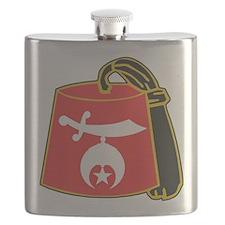 Unique Shriner Flask