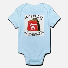 My Dad Is A Shriner Infant Bodysuit