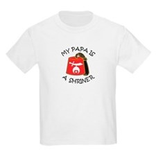 My Papa Is A Shriner T-Shirt