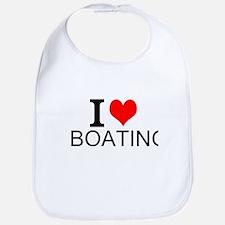 I Love Boating Bib
