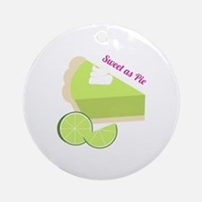 Sweet As Pie Ornament (Round)