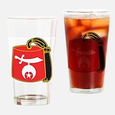 Shriner Fez Drinking Glass