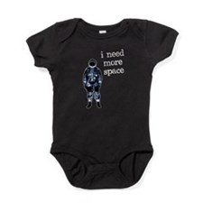 I Need More Space Astronaut Baby Bodysuit