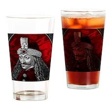 Vlad Dracula Gothic Drinking Glass