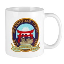 USS WHITFIELD COUNTY Mug