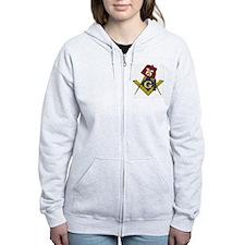 Cute Masonic Zip Hoodie