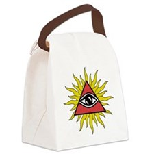 Funny Seeing Canvas Lunch Bag