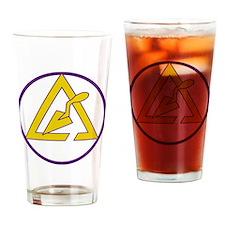 Unique York rite Drinking Glass