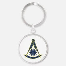Unique Past master Round Keychain