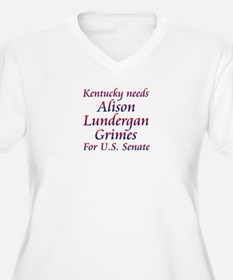 Grimes for Senate Plus Size T-Shirt