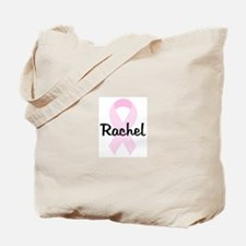 Rachel pink ribbon Tote Bag