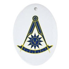 Past Master 1 Ornament (Oval)