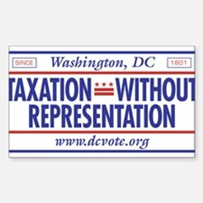Taxation Without Representation Decal